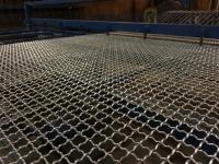 Zinc-coated/galvanized crimped wire mesh