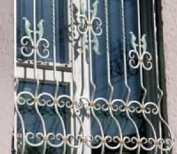 Anti-burglar window protection