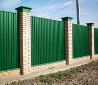 Profiled sheet fences