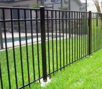 Profile pipe fences