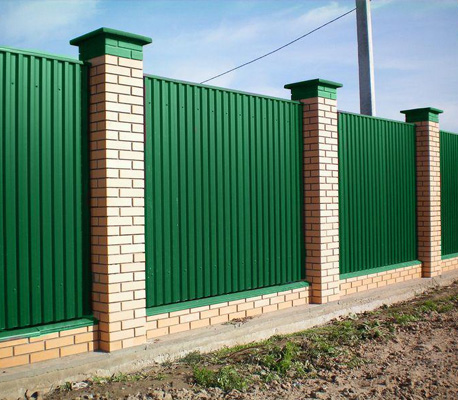 Professional sheet fences