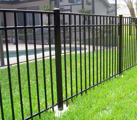 Profile pipe fences